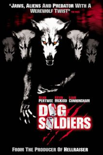 Dog Soldiers DVD, 2009, Limited Edition Steelbook