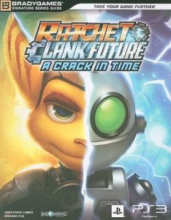 Ratchet and Clank Future A Crack in Time by Brady Games Staff and Sony