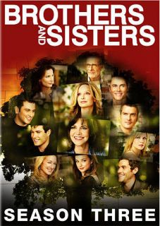 Brothers Sisters   The Complete Third Season DVD, 2009, 6 Disc Set