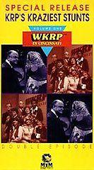 WKRP in Cincinnati Special Release V. 1   KRPs Kraziest Stunts VHS