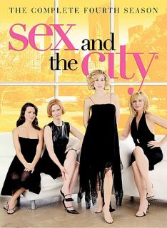 Sex and the City The Complete Fourth Season DVD, 2003, 3 Disc Set