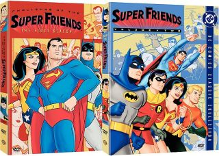 Superfriends   The Complete Seasons 1 2 DVD, 2005, 2 Disc Set