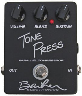 Barber Electronics Tone Press Compressor Guitar Effect Pedal
