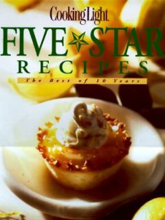 Cooking Light Five Star Recipes by Leisure Arts Staff 1996, Hardcover