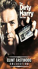 Harry Series VHS, 2001, 5 Tape Set, Clint Eastwood Collection