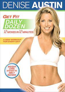 Denise Austin   Get Fit Daily Dozen DVD, 2008