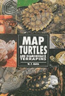 Map Turtles and Diamond Back Terrapins by W. P. Mara 1997, Hardcover