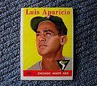 Luis Aparicio 1958 J D McCarthy Chicago White Sox Postcard 2 Others