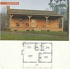 Log Home Package Kit 28 x 40 1 Level Logs Porch and Roof System $ 22