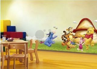 Wall sticker Winnie the pooh nursery room kids boy girl gift tiger