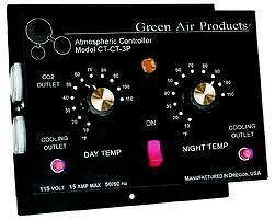 Green Air CT CT 3 Day & Night Cooling Thermostat with Photo Sensor