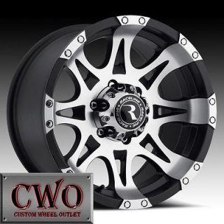 Newly listed 16 Black Raceline Raptor Wheels 6x139.7 6 Lug GMC Chevy