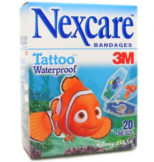 3M NEXCARE x Disney PIXAR Tattoo Waterproof Impermeables Bandage (20