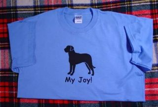 Greater Swiss Mountain Dog Joy Tshirt Sample Sale Large only