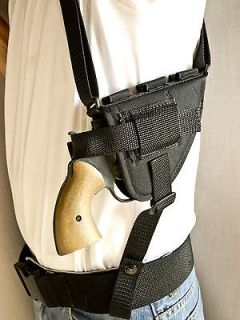 Shoulder Holster for 2 Revolvers, Smith & Wesson S&W 686P Magnum 686