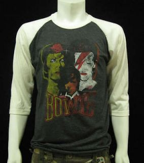 David Bowie Changing Image Rock Mens Vintage T Shirt XL