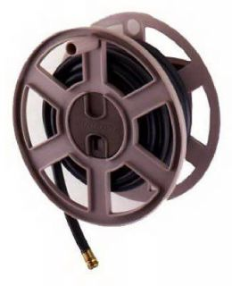 100 Foot Garden Hose Capacity Wall Mounted Sidetracker Hose Reel