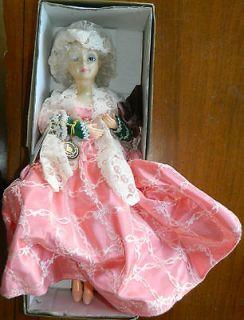 1987 Brinns 1st Lady Doll American Tradition Martha Custis Washington