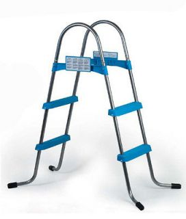 NEW 42 INCH ABOVE GROUND SWIMMING POOL A FRAME LADDER