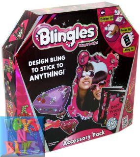 ACCESSORY PACK Box Frame Keyring Cards Storage Girls Kids Craft Kit