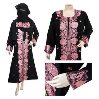 Sequin Dress on Evening Thobe Abaya Dress Wedding Henna Gown With Crystals Prom Kimono