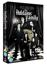THE ADDAMS / ADAMS FAMILY   Complete TV Series / Season 1 DVD BOX SET
