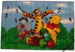 WINNIE THE POOH TIGGER ROO MUSIC CHILDRENS PLAY MAT RUG