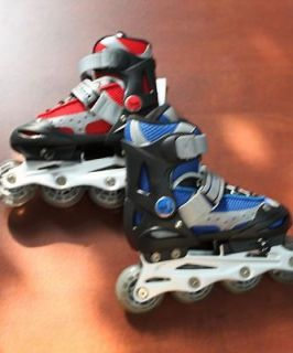 YOUTH BOYS GIRLS INLINE SKATES ROLLER BLADES NEW