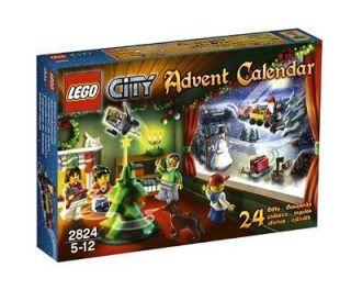 Lego City 2824 Advent Calendar 2010