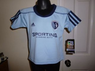 Adidas MLS Sporting Kansas City Infant Soccer Jersey NWT 12 Months