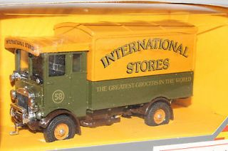 Corgi Classics AEC 5 Ton Cabover, International Stores Truck, New in