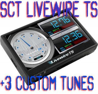 2011 FORD Twin Turbo Ecoboost SCT Livewire TS 5015 Tuner Chip+3 MPT
