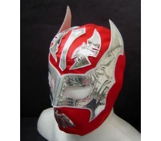 SIN CARA NEW RED WRESTLING MASK YOUNG SIZE youth FREE SHIPPING