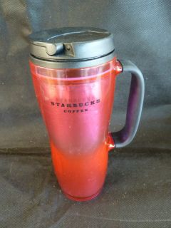 Starbucks Coffee Mug Insulated Travel Mug Pink 16 oz