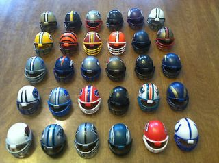 NFL Mini Plastic Gumball Football Helmet 1 1/2 You Choose The Teams