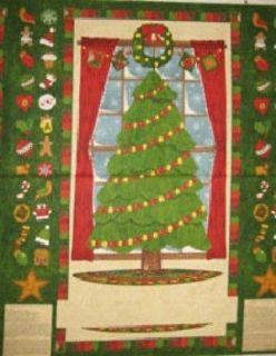 Trees by Wilmington   76323 723 Chri stmas Tree Advent Calendar Panel