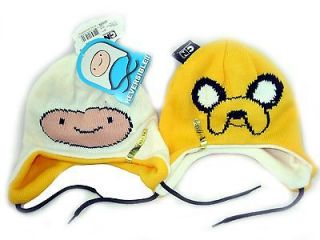 ADVENTURE TIME Jake Finn REVERSIBLE Laplander Costume Cosplay Hat Cap