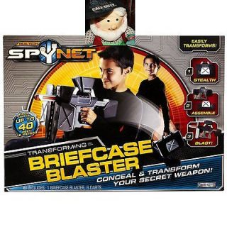 NEW Real Tech SPYNET Briefcase Blaster Transforming Dart Gun SPY NET