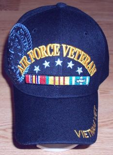 air force veteran hat cap