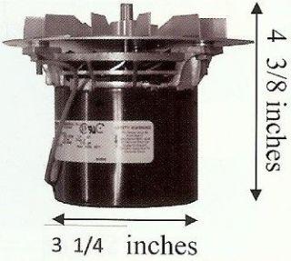 PelPro Pel Pro Pellet Stove Exhaust Motor Blower w/ Gasket