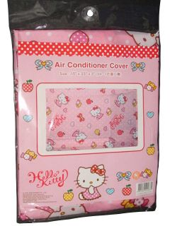 SANRIO HELLO KITTY INDOOR WINDOW AIR CONDITIONER COVER GIFTS ~ LAST 1