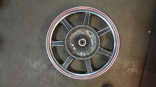 1980 BMW R100 T RT RS Airhead S232 2. 18in rear Lester mag wheel rim
