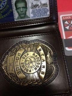Resident Evil STARS ID Badge Metal Albert Wesker STARS front ver. FREE