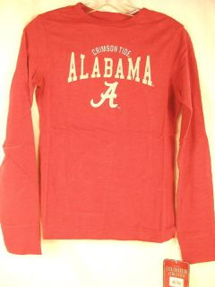 Alabama Crimson Tide LS shirt women slim fit pick size