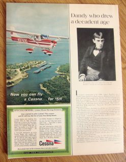 1967 Cessna 150 Airplane Ad Fly for $5.00