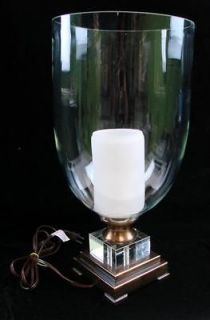 Nouveau Large Table Lamp Light Bubble Glass Glowing Pillar Candle