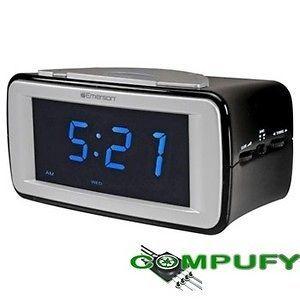 emerson smartset dual alarm clock radio