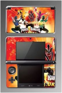 Power Rangers Samurai Red Sword SKIN 4 for Nintendo 3DS
