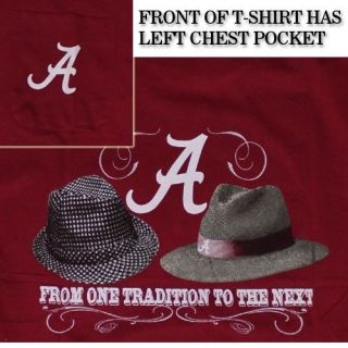 Alabama Crimson Tide Football T Shirts   Nick Saban and Bear Bryant