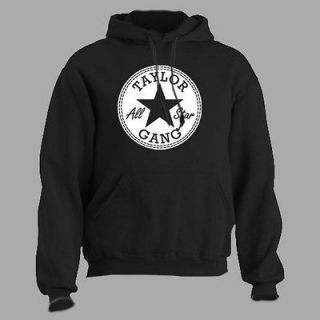 Taylor Gang ~ ALL STAR ~ Wiz Khalifa Retro hip hop rap Hoodie S   4XL